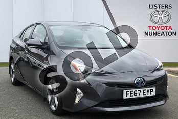 Toyota Prius 1.8 VVTi Excel 5dr CVT in Grey at Listers Toyota Nuneaton