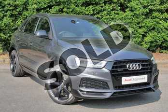 Audi Q3 2.0 TDI Quattro S Line Edition 5dr S Tronic in Daytona Grey Pearlescent at Worcester Audi