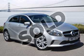Mercedes-Benz A Class A180d Sport Executive 5dr Auto in Polar Silver at Mercedes-Benz of Hull