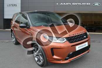 Land Rover Discovery Sport D180 R-DYNAMIC SE Diesel MHEV in Namib Orange at Listers Land Rover Hereford