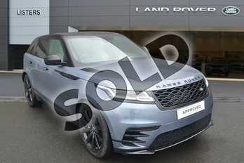 Range Rover Velar 3.0 D300 R-Dynamic SE 5dr Auto in Byron Blue at Listers Land Rover Hereford