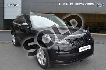 Range Rover Velar 2.0 D180 S 5dr Auto in Narvik Black at Listers Land Rover Hereford