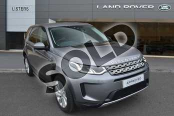 Land Rover Discovery Sport 2.0 D180 SE 5dr Auto in Eiger Grey at Listers Land Rover Hereford