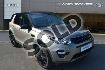 Land Rover Discovery Sport 2.0 SD4 240 HSE Black 5dr Auto in Silicon Silver at Listers Land Rover Hereford
