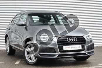 Audi Q3 1.4T FSI S Line Edition 5dr in Daytona Grey Pearlescent at Coventry Audi