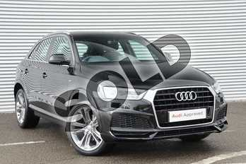 Audi Q3 1.4T FSI S Line Edition 5dr in Myth Black Metallic at Coventry Audi