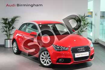 Audi A1 1.2 TFSI Sport 3dr in Misano Red, pearl effect at Birmingham Audi