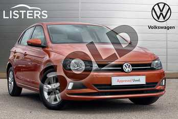 Volkswagen Polo 1.0 EVO 80 SE 5dr in Energetic Orange at Listers Volkswagen Stratford-upon-Avon