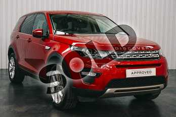 Land Rover Discovery Sport 2.0 D180 HSE 5dr Auto in Firenze Red at Listers Land Rover Droitwich