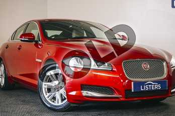 Jaguar XF 3.0d V6 Luxury 4dr Auto (Start Stop) in Special paint - Italian racing red at Listers U Stratford-upon-Avon