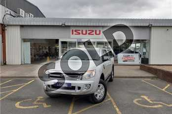 Ford Ranger Pick Up Double Cab Limited 2.2 TDCi 150 4WD in Metallic - Oyster silver at Listers Isuzu Worcester