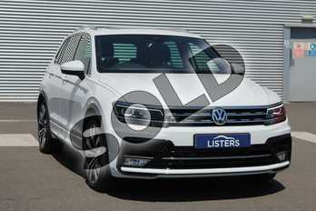 Volkswagen Tiguan 2.0 TDI 150 4Motion R Line 5dr DSG in Special solid - Pure white at Coventry Audi