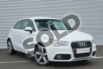 Audi A1 1.4 TFSI Sport 3dr S Tronic in Glacier White, metallic at Coventry Audi