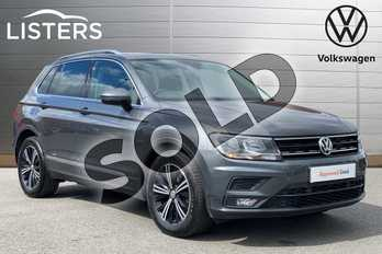 Volkswagen Tiguan 1.4 TSI 125 SE 5dr in Indium Grey at Listers Volkswagen Leamington Spa