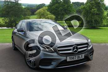 Mercedes-Benz E Class E220d 4Matic AMG Line Premium 4dr 9G-Tronic in Selenite Grey Metallic at Mercedes-Benz of Grimsby