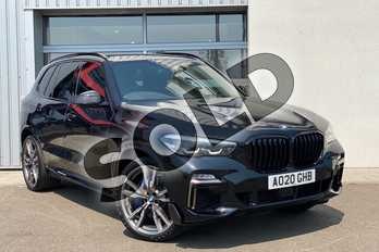 BMW X5 xDrive M50d 5dr Auto in Black Sapphire metallic paint at Listers King's Lynn (BMW)