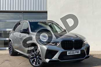 BMW X5 M xDrive X5 M Competition 5dr Step Auto in Donington Grey at Listers King's Lynn (BMW)
