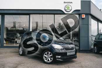 Skoda Citigo 1.0 MPI 75 GreenTech SE L 5dr in Deep black at Listers ŠKODA Coventry