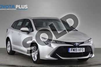 Toyota Corolla 1.8 VVT-i Hybrid Icon Tech 5dr CVT in Silver at Listers Toyota Nuneaton