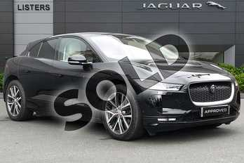 Jaguar I-PACE 294kW EV400 First Edition 90kWh 5dr Auto in Santorini Black at Listers Jaguar Droitwich