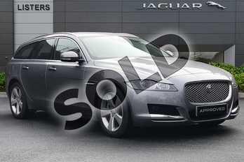 Jaguar XF 2.0 i4 Petrol (250PS) Portfolio in Corris Grey at Listers Jaguar Droitwich