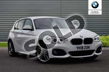 BMW 1 Series 120i (2.0) M Sport 5dr (Nav/Servotronic) Step Auto in Alpine White at Listers Boston (BMW)