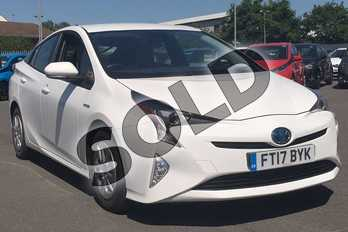 Toyota Prius 1.8 VVTi Business Edition 5dr CVT in Pure White at Listers Toyota Lincoln