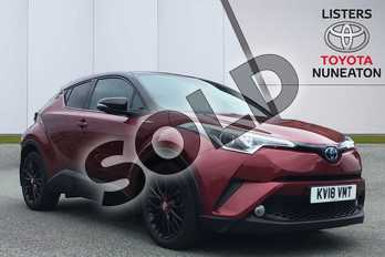 Toyota C-HR 1.8 Hybrid Red Edition 5dr CVT in Red at Listers Toyota Nuneaton