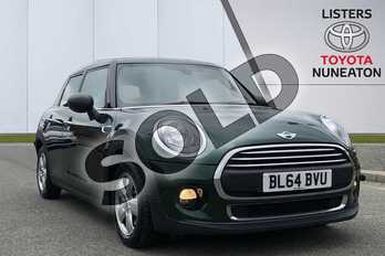 MINI Hatchback 1.2 One 5dr in Green at Listers Toyota Nuneaton
