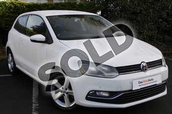 Volkswagen Polo 1.2 TSI 110 SEL 3dr in Pure White at Listers Volkswagen Worcester