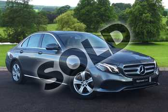 Mercedes-Benz E Class E220d SE 4dr 9G-Tronic in Selenite Grey metallic at Mercedes-Benz of Grimsby