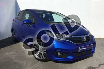 Honda Jazz 1.3 EX 5dr in Brilliant Sporty Blue at Listers Honda Solihull