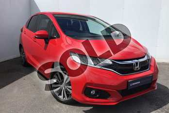 Honda Jazz 1.3 EX 5dr in Milano Red at Listers Honda Solihull