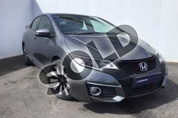 Honda Civic 1.8 i-VTEC SE Plus 5dr Auto  in Polished Metal at Listers Honda Solihull