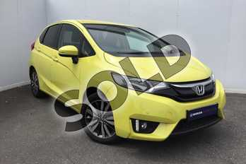 Honda Jazz 1.3 EX 5dr in Attract Yellow at Listers Honda Solihull