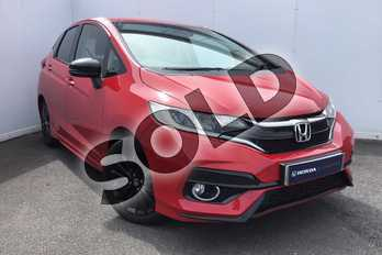 Honda Jazz 1.5 i-VTEC Sport Navi 5dr in Milano Red at Listers Honda Solihull