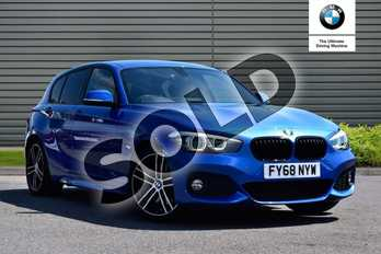 BMW 1 Series 120d M Sport Shadow Ed 5dr Step Auto in Estoril Blue at Listers Boston (BMW)