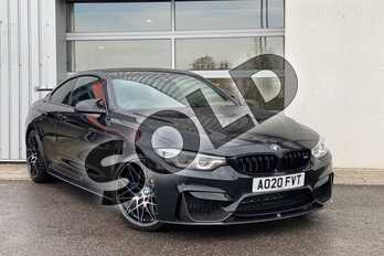 BMW M4 M4 2dr DCT (Competition Pack) in Black Sapphire metallic paint at Listers King's Lynn (BMW)