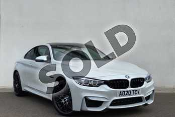 BMW M4 M4 2dr DCT (Competition Pack) in Mineral White at Listers King's Lynn (BMW)