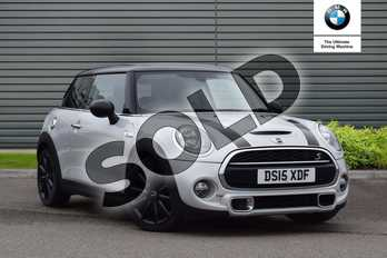 MINI Hatchback 2.0 Cooper S 3dr in White Silver at Listers Boston (MINI)
