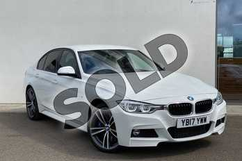 BMW 3 Series 335d xDrive M Sport 4dr Step Auto in Alpine White at Listers King's Lynn (BMW)