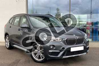 BMW X1 xDrive 20i xLine 5dr Step Auto in Mineral Grey at Listers King's Lynn (BMW)