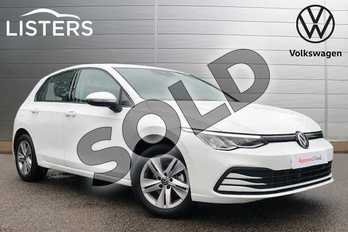 Volkswagen Golf 1.5 TSI Life 5dr in Pure white at Listers Volkswagen Coventry