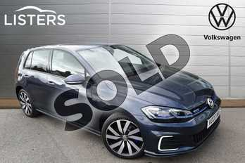Volkswagen Golf 1.4 TSI GTE Advance 5dr DSG in Isaac Blue at Listers Volkswagen Worcester