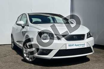 SEAT Ibiza 1.2 TSI 110 FR Technology 5dr in White at Listers SEAT Worcester