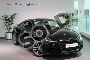 Audi TT 1.8T FSI S Line 2dr in Myth Black Metallic at Birmingham Audi