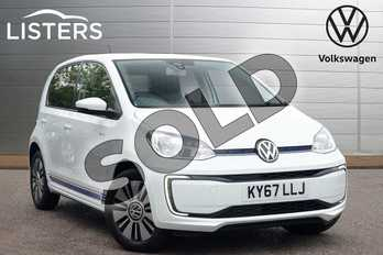 Volkswagen Up 60kW E-Up 18kWh 5dr Auto in Pure White at Listers Volkswagen Leamington Spa