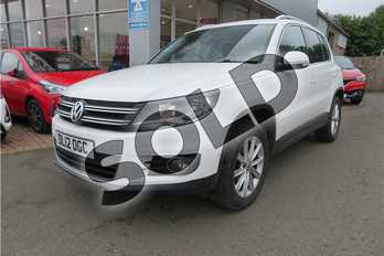 Volkswagen Tiguan 2.0 TDI BlueMotion Tech SE 5dr DSG in Special solid - Candy white at Listers Toyota Grantham