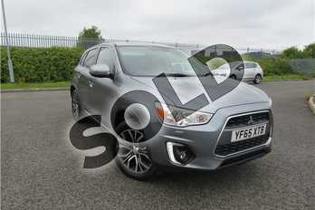 Mitsubishi ASX 1.6 ZC-M 5dr in Metallic - Atlantic Grey at Listers Toyota Grantham