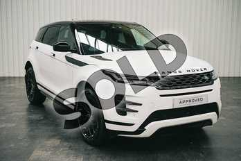 Range Rover Evoque 2.0 D180 R-Dynamic SE 5dr Auto in Fuji White at Listers Land Rover Solihull